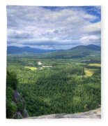 Cathedral Ledge View Fleece Blanket