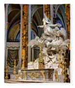 Cathedral Of Chartres Altar Fleece Blanket
