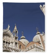 Cathedral Of San Marco  Fleece Blanket