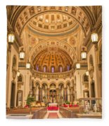 Cathedral Of The Sacred Heart 2 Fleece Blanket