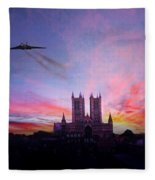 Cathedral Pass  Fleece Blanket