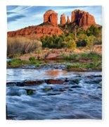 Cathedral Rock II Fleece Blanket