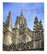 Cathedral Spires Fleece Blanket