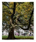 Cathedral Square - Exeter Fleece Blanket