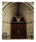Catherdral Door's Fleece Blanket