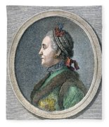 Catherine II Of Russia (1729-1796) Fleece Blanket