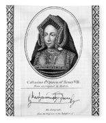 Catherine Of Aragon (1485-1536) Fleece Blanket
