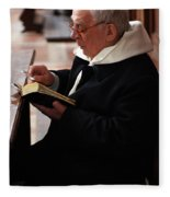Catholic Priest Fleece Blanket