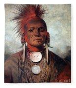 Catlin: Medicine Man Fleece Blanket
