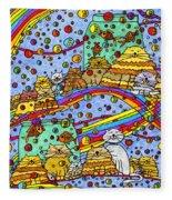 Catnip Dreamzzzs Fleece Blanket