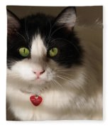 Cat's Eye Fleece Blanket