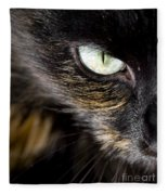 Cats Eye Fleece Blanket