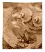 Cats Eyes Fleece Blanket
