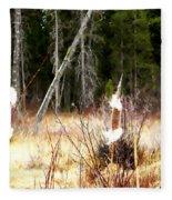 Cattails Fleece Blanket