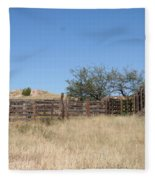 Cattle Pen Fleece Blanket