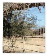 Cattle Ramp Fleece Blanket