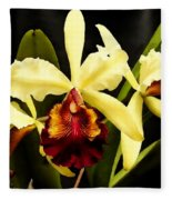 Cattleya Too Fleece Blanket