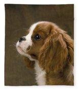 Cavalier King Charles Spaniel Dog Fleece Blanket