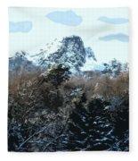 Cavehill In The Snow 2 Fleece Blanket