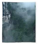 Caving Expedition To Explore The Caves Fleece Blanket