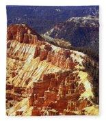 Cedar Breaks Utah Fleece Blanket