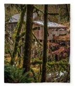 Cedar Creek Grist Mill 2 Fleece Blanket