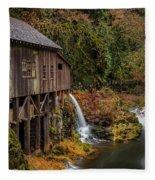 Cedar Creek Grist Mill Fleece Blanket