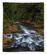Cedar Creek Horiz. Fleece Blanket