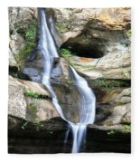 Cedar Falls II Fleece Blanket