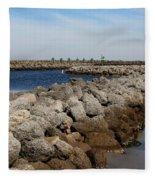 Cedar Island Gateway Fleece Blanket