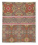 Ceiling Arabesques From The Mosque Of El-bordeyny Fleece Blanket