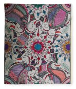 Celebration Of Design Fleece Blanket