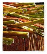 Celery In The Sun Fleece Blanket