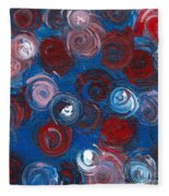 Celestial Bouquet Fleece Blanket