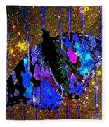 Celestial Butterfly Fleece Blanket