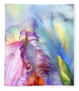 Celestial Goddesses Fleece Blanket