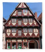 Celle Old Houses Fleece Blanket