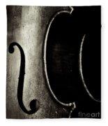 Cello Piece Fleece Blanket