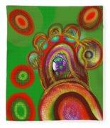 Cells Fleece Blanket