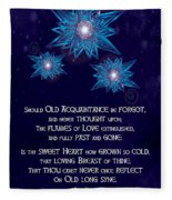 Celtic New Year Fleece Blanket