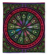 Celtic Sleeping Beauty Part I The Gifts Fleece Blanket