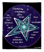 Celtic Twinkle Twinkle Fleece Blanket