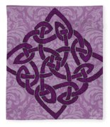 Celtic Wedding Knott Fleece Blanket