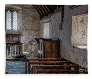 Celynnin Church V2 Fleece Blanket