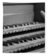 Cembalo Keyboards Fleece Blanket