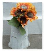 Cemetary Flowers 1 Fleece Blanket