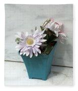 Cemetary Flowers 3 Fleece Blanket