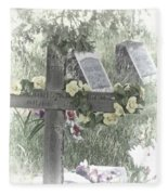 Cemetery Fleece Blanket