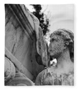 Cemetery Gentlewoman Fleece Blanket