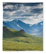 Center Of The Valley Fleece Blanket